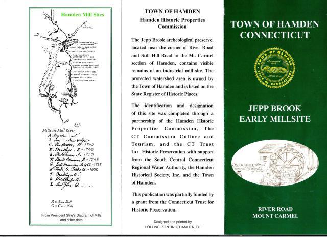 Hamden Historical Society, Walking Tours 002